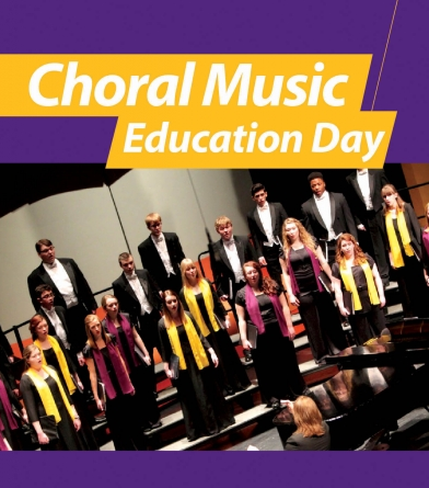 Choral Music Education Day Flyer